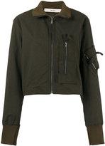 Damir Doma fitted bomber jacket - women - Cotton/Polyamide/Spandex/Elastane/Cupro - S