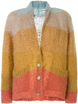 Mes Demoiselles Colour-Block Knit Cardigan
