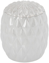 Villari - Black Tie Jar - Pearl Grey