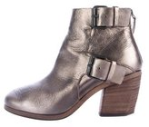 Marsèll Bolla Metallic Leather Ankle Booties
