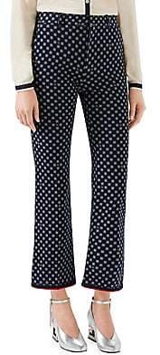 Gucci Women's G Frame Bootcut Pants