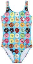 Terez Girls' Donut Print Swimsuit - Little Kid, Big Kid