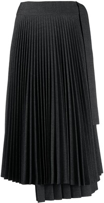 P.A.R.O.S.H. Mix Pleat Skirt