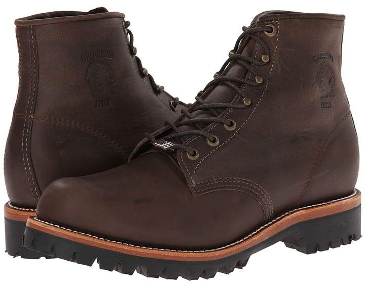 Chippewa 6 Engineer Lace Up Boot Men's Work Boots