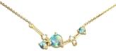 WWAKE Organic Triangle Opal and Diamond Necklace