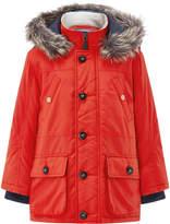 Monsoon Olly Orange Parka Coat