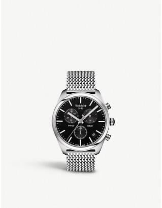 Tissot T101.417.11.051.01 PR100 stainless steel chronograph watch