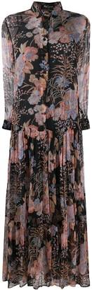 Mes Demoiselles Floral-Print Maxi Dress