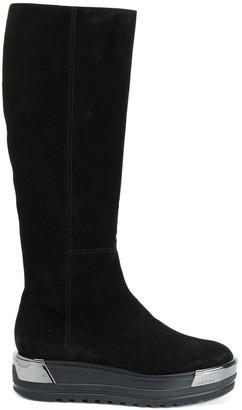 Baldinini Mirrored Platform Boots