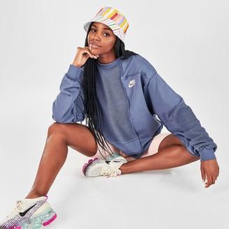 Nike Women's Sportswear Icon Clash Fleece Crew Sweatshirt
