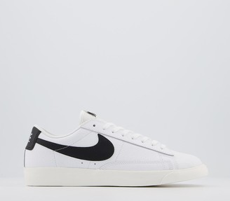 Nike Blazer Low Trainers White Black