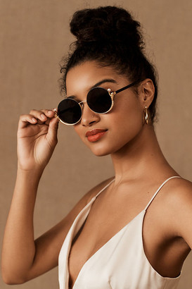 For Art's Sake Ariel Sunglasses By in Gold