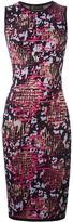 Versace intarsia knit dress