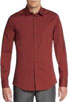 Dolce & Gabbana Regular-Fit Stretch-Cotton Sportshirt