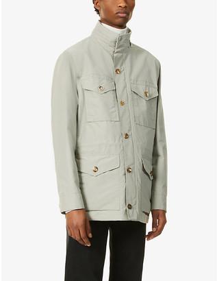 Ralph Lauren Purple Label Laurence patch-pocket cotton-blend jacket