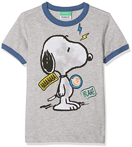 Benetton Boy's T-Shirt T-Shirt,(Manufacturer Size: Medium)