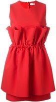 MSGM ruffled waist dress
