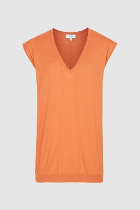 Reiss Chris Sleeveless V-Neck