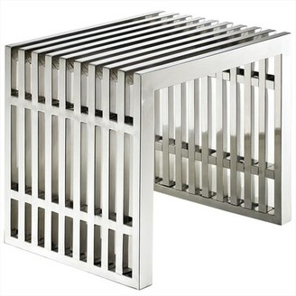 Orren Ellis Renken Stainless Steel End Table