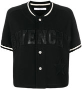 Givenchy short sleeve baseball jacket