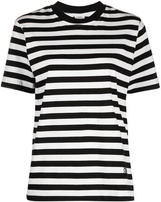 Baum und Pferdgarten stripe print T-shirt