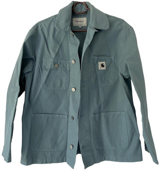 Carhartt Blue Cotton Jackets