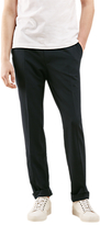 Jigsaw Seersucker Slim Fit Trousers, Navy