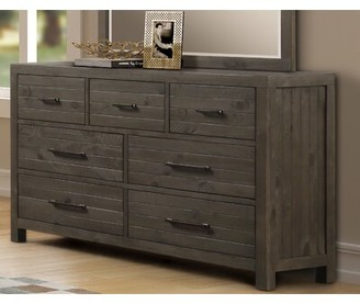Gracie Oaks Depaul 7 Drawer Double Dresser With Mirror Shopstyle