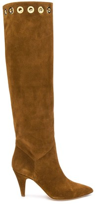 Alberta Ferretti Knee High Pointed Boots