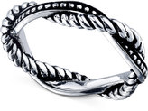 Unwritten Sterling Silver Twisted Ring