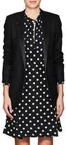 Saint Laurent Women's Pinstriped Wool-Blend One-Button Jacket
