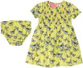 Kite Baby Girls Butterfly Dress & Pant Set