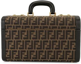 Fendi Pre Owned Zucca pattern cosmetic bag