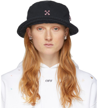 Off-White Off White Black Bucket Hat