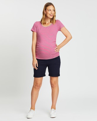 Angel Maternity Summer Shorts