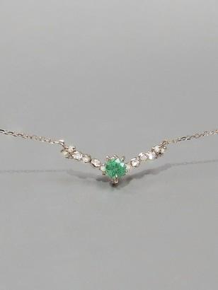 Kataoka Emerald Snowflake Necklace - Blossom