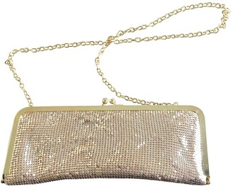 Non Signã© / Unsigned Non SignA / Unsigned Gold Metal Clutch bags