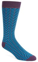 Ted Baker Men's Chevron Stripe Socks