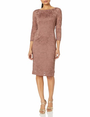 Marina Women's Slim Lace Dress