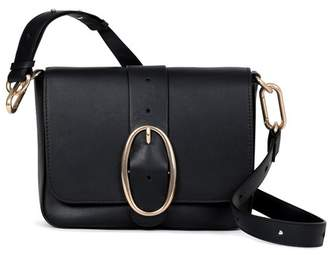 Vanessa Bruno Smooth Calfskin Leather Iris Bag