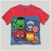 Marvel Boys' Avengers T-Shirt - Navy