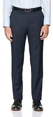 Bugatti Men's 7880-99770 Slim Suit Trousers, Grey (Grau 57)
