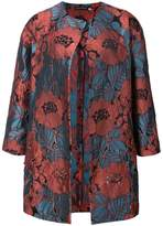 Natori cut out embroidered topper jacket