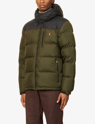 Polo Ralph Lauren El-Cap logo-embossed recycled polyester-down jacket