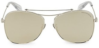 Alexander McQueen 60MM Geometric Sunglasses
