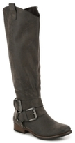 Crown Vintage Buckles Riding Boot