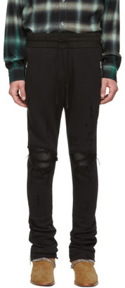 Amiri Black MX1 Lounge Pants