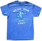 Freeze Men's Mega Man Running and Gunning Since 1987 Vintage T-Shirt