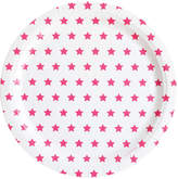 MY LITTLE DAY Fuchsia Star Paper Plates - Pack of 8