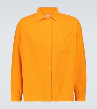 Erl Button-down corduroy shirt